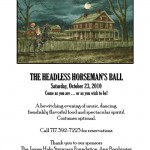 The Headless Horseman's Ball