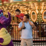 Fun with Duke the Dragon at Dutch Wonderland!